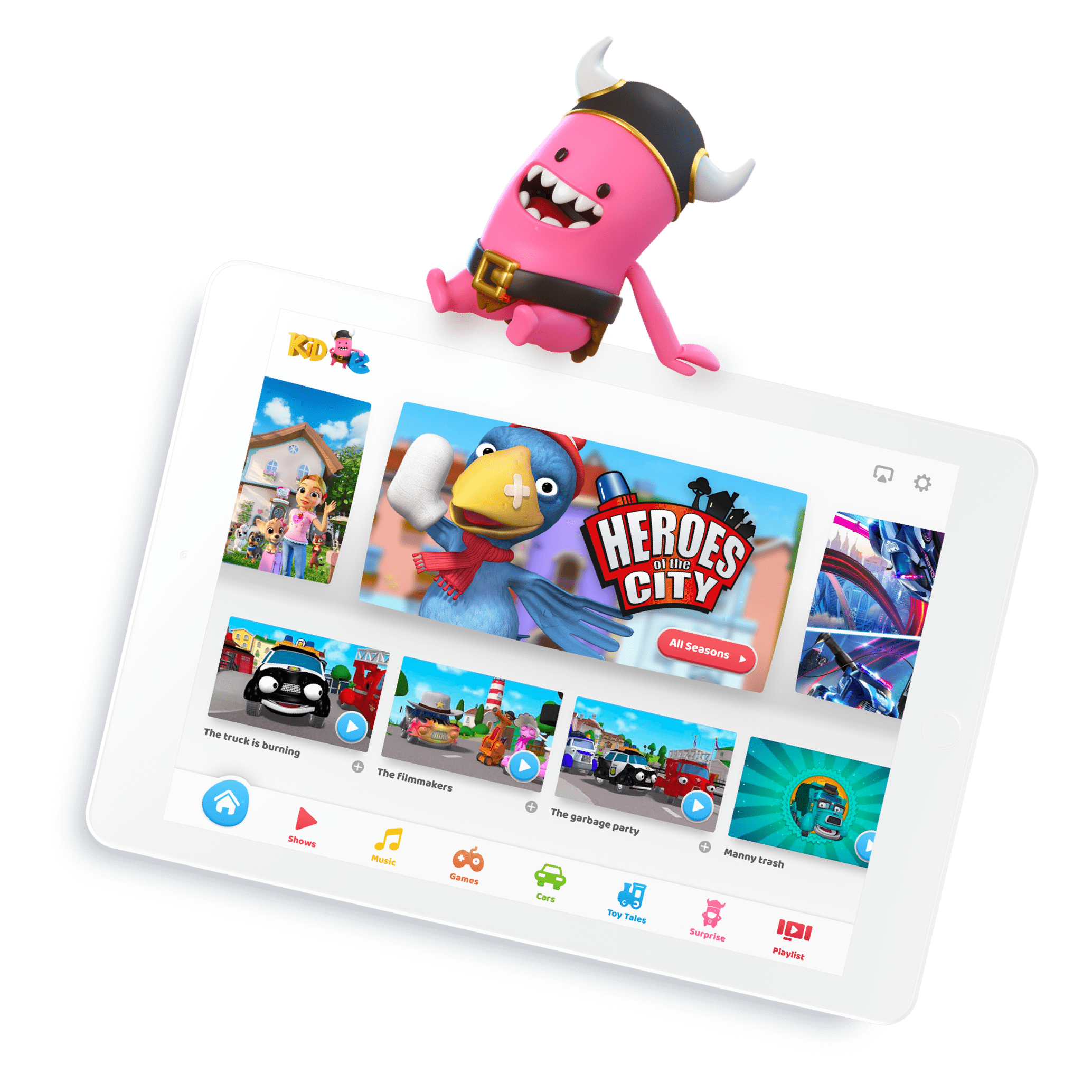 Kid e Tales Tablet App